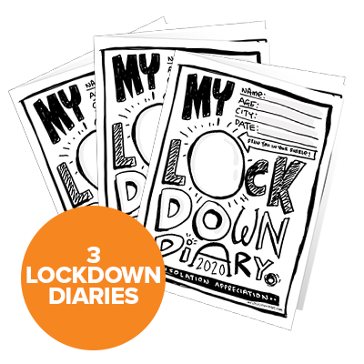My Lockdown Diary Triple Deal