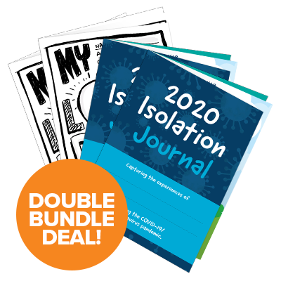 Isolation Journal & My Lockdown Diary Double Deal
